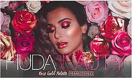 Parfumuri și produse cosmetice Paletă farduri de ochi - Huda Beauty Rose Gold Palette