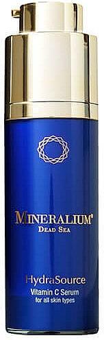Ser facial cu Vitamina C - Mineralium Hydra Source Vitamin C Serum