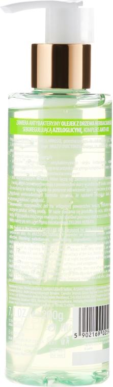 Gel micelar pentru curățare - Bielenda Green Tea Cleansing Micellar Wash Gel — Imagine N2