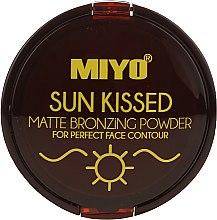 Parfumuri și produse cosmetice Pudră bronzantă - Miyo Sun Kissed Matt Bronzing Powder