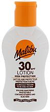 Parfumuri și produse cosmetice Loțiune cu protecție solară - Malibu Lotion SPF30