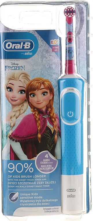 """Periuță electrică de dinți """"Frozen"""" - Oral-B Kids — Imagine N1"""