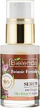 Ser hidratant pentru față - Bielenda Botanic Formula Hemp Oil + Saffron Moisturizing Serum — Imagine N2
