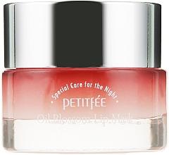 Parfumuri și produse cosmetice Mască cu ulei de camelie și vitamina E de noapte pentru buze - Petitfee & Koelf Oil Blossom Lip Mask