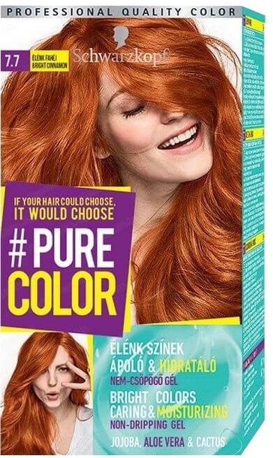 Vopsea de păr - Schwarzkopf Pure Color