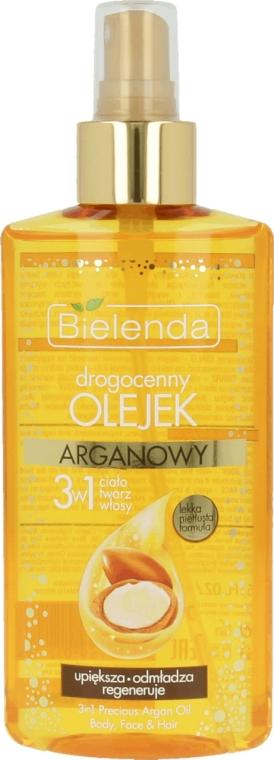 Ulei de argan 3 în 1 pentru corp, față și păr - Bielenda Drogocenny Olejek