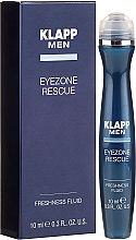 Parfumuri și produse cosmetice Ser pentru ochi - Klapp Men Eyezone Rescue Freshness Fluid