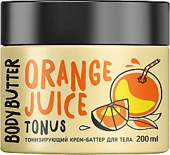 """Parfumuri și produse cosmetice Cremă-unt tonifiantă """"Portocală"""" pentru corp - MonoLove Bio Orange Juice Body Butter"""