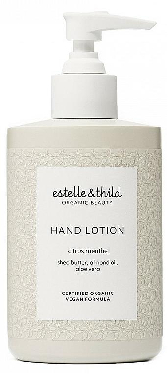 Loțiune pentru mâini - Estelle & Thild Citrus Menthe Hand Lotion — Imagine N1