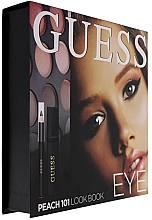 Parfumuri și produse cosmetice Set - Guess Beauty Peach 101 Eye Lookbook (mascara/4ml + eyeliner/0.5g + 12xeye/sh/1.96g)