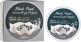 Parfumuri și produse cosmetice Patch-uri hidrogel cu extract de perle negre - Esfolio Black Pearl Hydrogel Eye Patch