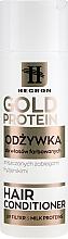 Parfumuri și produse cosmetice Balsam pentru păr vopsit - Hegron Gold Protein Hair Conditioner