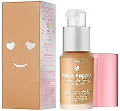Parfumuri și produse cosmetice Fond de ten - Benefit Hello Happy Flawless Foundation (mini)