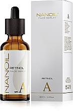 Parfumuri și produse cosmetice Ser revitalizant cu retinol pentru față - Nanoil Face Serum Retinol