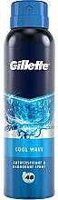 Parfumuri și produse cosmetice Deodorant antiperspirant spray - Gillette Cool Wave Antiperpirant Spray