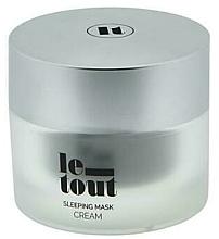 Parfumuri și produse cosmetice Cremă-mască de noapte pentru față - Le Tout Sleeping Mask Cream Hydrating Treatment