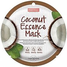 Parfumuri și produse cosmetice Mască facială cu extract de cocos - Purederm Coconut Essence Mask