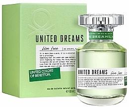 Parfumuri și produse cosmetice Benetton United Dreams Live Free - Apă de toaletă