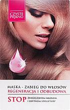 """Parfumuri și produse cosmetice Mască tratament pentru păr """"Recuperare și regenerare"""" - Czyste Piękno"""