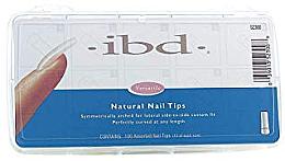 Parfumuri și produse cosmetice Tipsuri pentru unghii, mate - IBD Natural Nail Tips