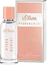 Parfumuri și produse cosmetice S.Oliver #Your Moment - Apă de parfum