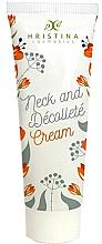 Parfumuri și produse cosmetice Crema pentru gât și decolteu - Hristina Cosmetics Neck And Decolte Cream