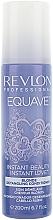 Balsam pentru părul blond cu keratină - Revlon Professional Equave 2 Phase Blonde Detangling Conditioner — Imagine N3