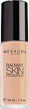 Parfumuri și produse cosmetice Fond de ten, cu acid hialuronic - Mesauda Milano Radiant Skin Foundation