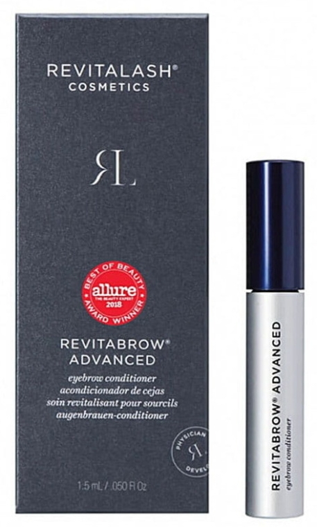 Balsam pentru creșterea bărbii - RevitaLash RevitaBrow Advanced Eyebrow Conditioner — Imagine N1