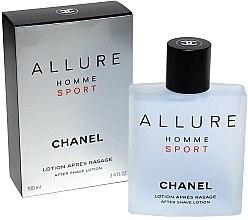 Chanel Allure homme Sport - Loțiune după ras — Imagine N2