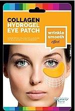 Parfumuri și produse cosmetice Mască de colagen cu acid hialuronic pentru zona ochilor - Beauty Face Collagen Hydrogel Eye Mask