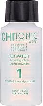 Soluție pentru ondularea chimică a părului, compoziția 1 - CHI Ionic Permanent Shine Waves Selection 1 — Imagine N2