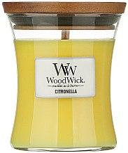 Parfumuri și produse cosmetice Lumânare aromatică în pahar - WoodWick Citronella Medium Candle