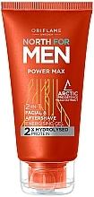 Parfumuri și produse cosmetice Gel 2 în 1 după ras - Oriflame North for Men Power Max