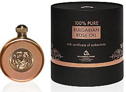 Parfumuri și produse cosmetice Ulei natural de trandafir, în cutie de cupru - Bulgarian Rose Oil