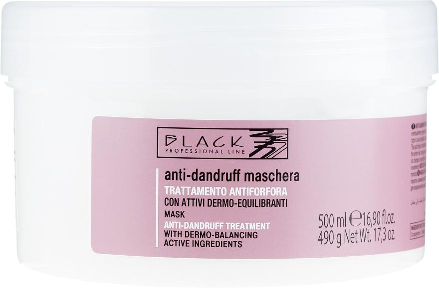 Cremă-mască împotriva mătreții - Black Professional Line Anti-Dandruff Mask