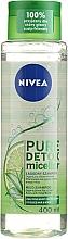 "Parfumuri și produse cosmetice Șampon micelar ""Detox"" - Nivea Pure Detox Micellar Shampoo"