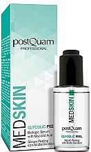 Parfumuri și produse cosmetice Ser-peeling pentru față - PostQuam Med Skin Glycolic Peeling Serum
