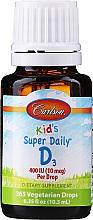 Parfumuri și produse cosmetice Vitamina D3 - Carlson Labs Kid's Super Daily D3