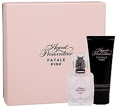 Parfumuri și produse cosmetice Agent Provocateur Fatale Pink - Set (edp/50ml + b/cr/100ml)