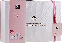 Parfumuri și produse cosmetice Set - Rituals The Ritual of Sakura Ceremony XL (b/scrub/250ml + s/gel/200ml + b/cr/200ml + soap/300ml + b/mist/50ml + candle/290g)