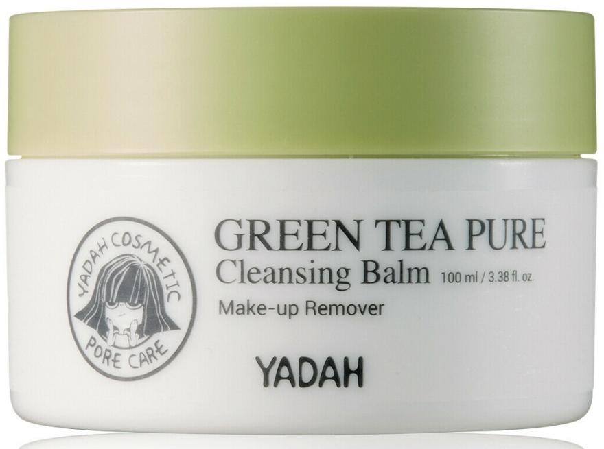 Balsam cu extract de ceai verde pentru curățarea feței - Yadah Green Tea Pure Cleansing Balm