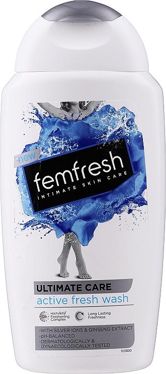 Gel deodorant cu acțiune triplă pentru igiena intimă - Femfresh Intimate Hygiene Triple Action Deodorising Wash — Imagine N1