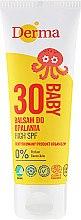Parfumuri și produse cosmetice Balsam de protecție solară pentru copii - Derma Eco Baby Sun Screen High SPF30