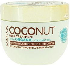 Parfumuri și produse cosmetice Mască pentru regenerarea părului - Kativa Coconut Oil Mask