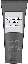 Parfumuri și produse cosmetice Gel de duș - Abercrombie & Fitch Authentic Men Hair&Body Wash