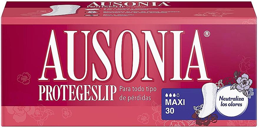 Absorbante de fiecare zi, 30 bucăți - Ausonia Protegeslip Maxi — Imagine N1