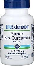 """Parfumuri și produse cosmetice Supliment alimentar """"Super Bio-Curcumina"""" - Life Extension Super Bio-Curcumin"""