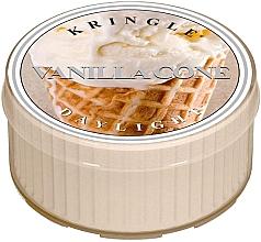 Parfumuri și produse cosmetice Lumânare aromată - Kringle Candle Vanilla Cone Daylight