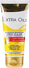 Parfumuri și produse cosmetice Ulei cremă pentru mâini - Perfecta Body Extra Oils Protective Hand Cream Oil